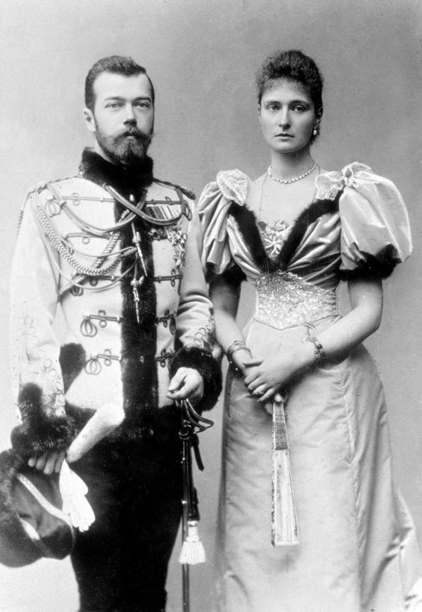 Император Николай II и императрица Александра Федоровна. Источник: wikimedia.org
