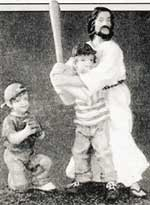 Бейсбол: тоже божий промысел