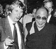 РИЧАРД ГИР: написал книгу о Тибете