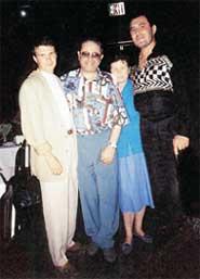 АРТЕМЬЕВ (на фото слева): с Евгением Петросяном и Вячеславом Медяником