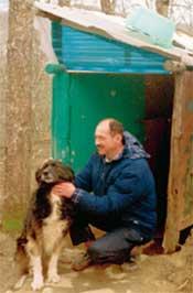 ДМИТРИЙ: вместе с верным псом охраняет лес от браконьеров