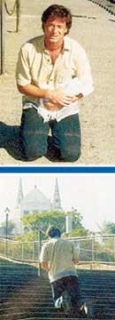 ФИНАЛЬНЫЕ КАДРЫ ИЗ &#034КЛОНА&#034: Марсело действительно прополз на коленях все 365 ступеней лестницы