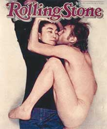 ПОБЕДНЫЙ АКТ: Джон и его муза украсили обложку музыкального журнала