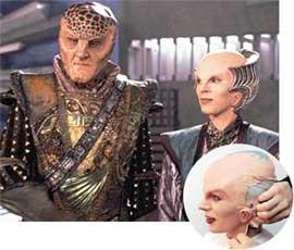 ДЕЛЕНН В &#034ВАВИЛОНЕ 5&#034: превращение актрисы в инопланетянку занимало 2 часа