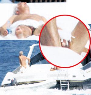 БОСС КОНЮШНИ «РЕНО»: после постельных баталий с Элизабетт Флавио любит в одиночестве поваляться на палубе своего катера