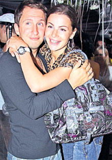 ЛЮБЯЩИЙ МУЖ: с женой Юлей на «Кинотавре»