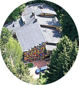 2. Хозяйский дом с великолепной мозаикой