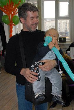 Валерий ЯРЁМЕНКО с сыном Кузьмой