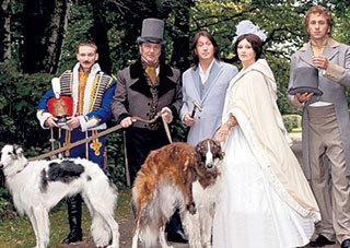 В видеоклипе, снятом на пушкинскую «Вакхическую песню»