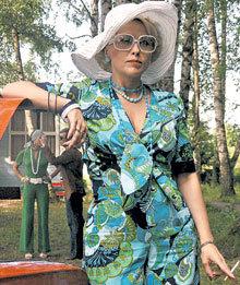 Наряды Анны ЛЕГЧИЛОВОЙ, как и других героев, были пошиты ещё в 70-х годах