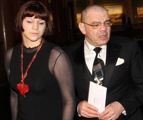 Константин РАЙКИН с дочерью Полиной