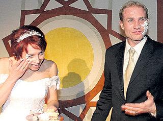 «Сладкие моменты» свадьбы с Юлией ЛАУТОВОЙ