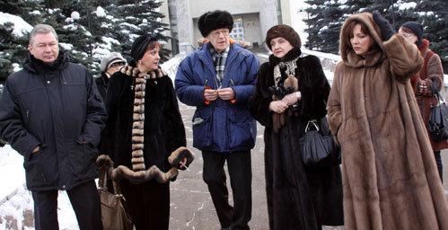 Андрей ЛЕОНОВ, Татьяна СУДЕЦ, Игорь КИРИЛЛОВ, Елена КОВАЛЕНКО (справа)