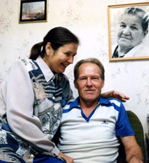 Михаил ЕЛЬЦИН с женой Натальей