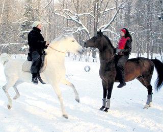 И Мария, и Елена КОРОЛЕВЫ увлекаются конным спортом