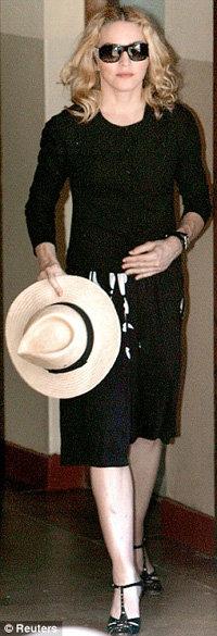 Мадонна приехала в суд