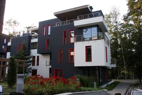 Ассоциация местных строителей признала дом, где расположены новые апартаменты Ксюши, лучшей новостройкой 2008 года