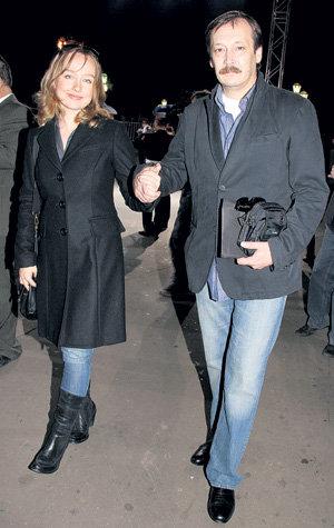 Влад с женой Екатериной  на презентации сериала (PhotoXPress)