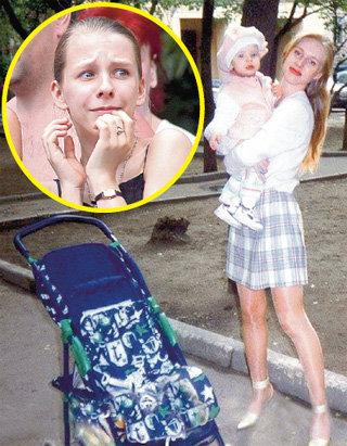 Мама Юлия баловала дочурку с малых лет