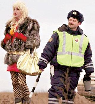 По версии «Наша Russia», главные участники теневой экономики - проститутка и милиционер