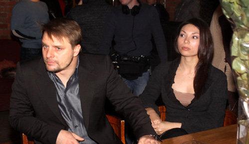 Александр НОСИК с подругой Катей