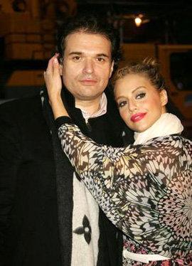 Бриттани Мерфи с мужем