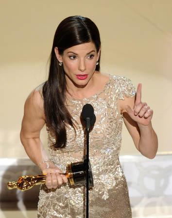 Сандра Баллок стала лучшей и худшей актрисой 2009 года. Фото АР