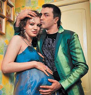 Алексей ПОТЕХИН с женой Еленой