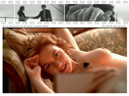 В знаменитой сцене из «Титаника» Кейт покорила ДиКАПРИО с первого взгляда