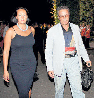 Ивар КАЛНЫНЬШ с женой Лаурой
