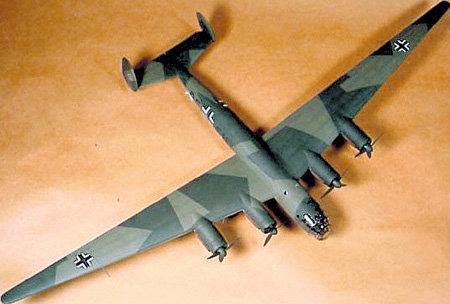 «Мессершмитт-264» ни разу не поднялся в небо (на фото уменьшенная точная копия самолёта)
