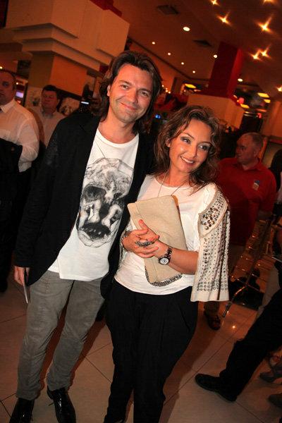 Дмитрий Маликов с женой Леной