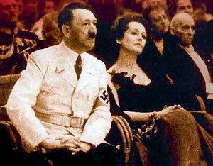 Для выходов в свет у Адольфа ГИТЛЕРА был парадный мундир и красавица Ольга ЧЕХОВА