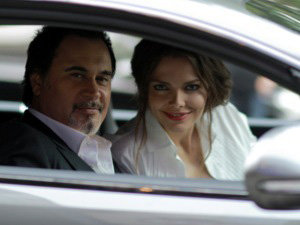 Лиза БОЯРСКАЯ и Валерий МЕЛАДЗЕ не только прокатились вместе в одной машине...