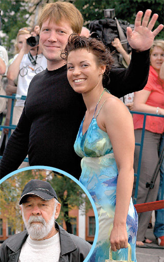 Надежда БОРИСОВА, дочь Льва Ивановича (в круге), теперь живёт с Алексеем КРАВЧЕНКО