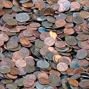 Каждая монетка из этой кучи денег...