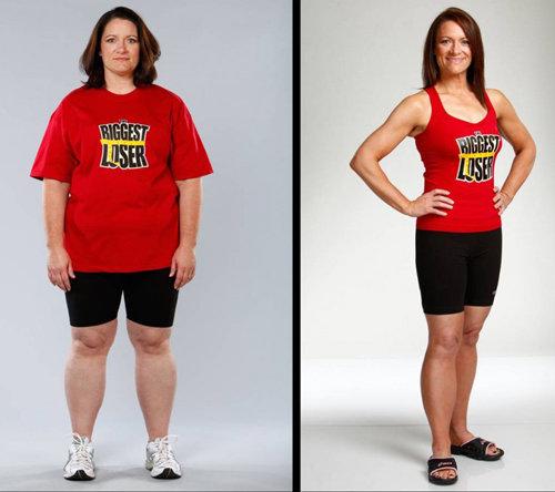 Мелисса Морган (39 лет) Начальный вес: 105 кг. Похудела до 65 кг. Потеряла: 40 кг