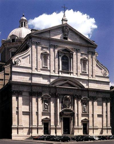 Церковь Святейшего Имени Иисуса, главный иезуитский храм в Риме