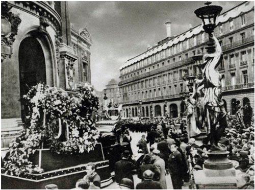Похороны Шаляпина в Париже, апрель 1938 г.