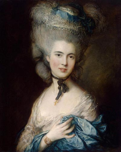 Дама в голубом (картина Гейнсборо)