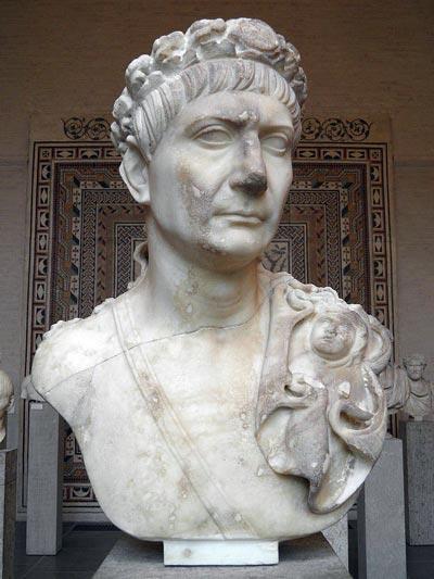 Публий Элий Траян Адриан, бюст работы неизвестного скульптора. Фото: Carole Raddato / Wikimedia.org