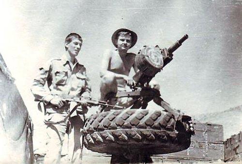 Советская пехота во время развертывания. wikipedia