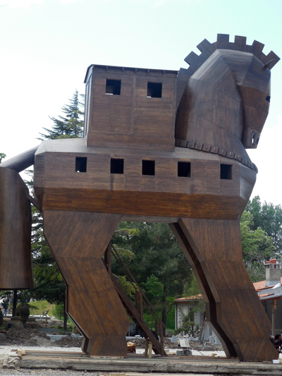Еще одна версия того, как мог выглядеть троянский конь. pixabay.com