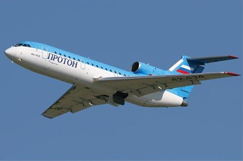 Разбившийся самолет за пять лет до трагедии