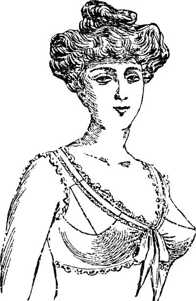 Рисунок из журнала мод, 1906 год. Wikimedia.org