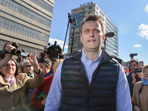 Вштаб Навального в российской столице  пришли собысками