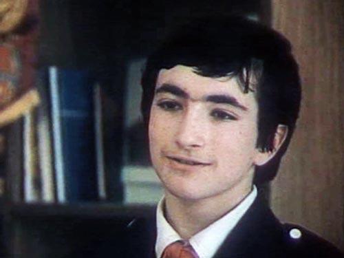 Семен Бузган, сыгравший Садовского, по возрасту был старше остальных ребят. Кадр из фильма