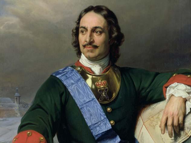 Портрет Петра I, Поль Деларош, 1838. wikipedia