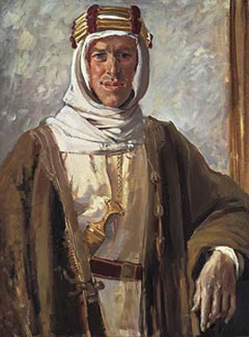 Картина Лоуренса Аравии от Августа Джона. 1 января 1919 года. Фото: Wikimedia.org
