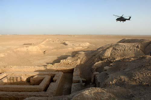Раскопки города-агрессора Урук, современный Ирак. Фото: wikipedia.o